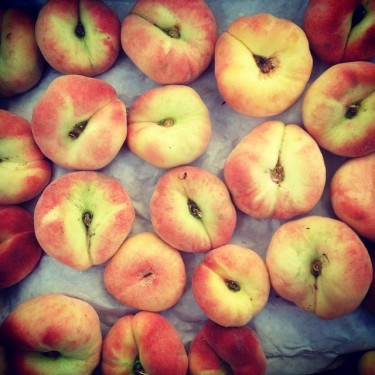 Doughnut Peaches from Martin Family Orchards