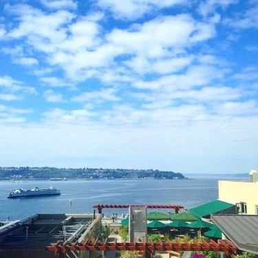 View from the Elliot Bay Room