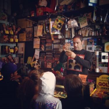 Jonathan at Market Magic